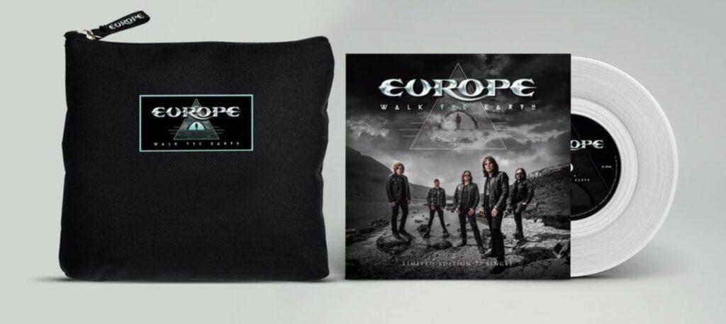 pochette et disque vinyle d'europe