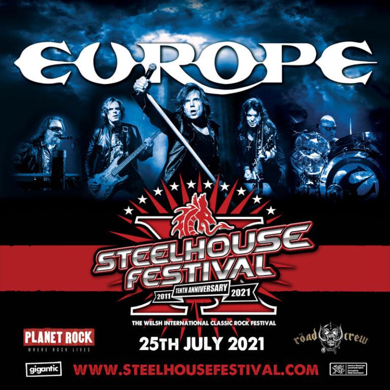 Read more about the article Europe annonce de nouvelles dates de concerts