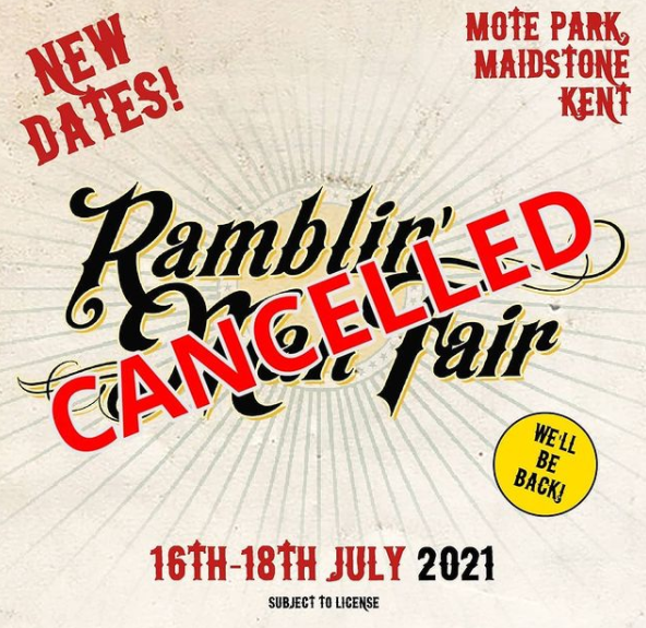 Annulation du Ramblin'Man Fair 2021