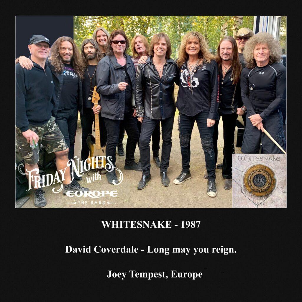 album préféré de Joey Tempest