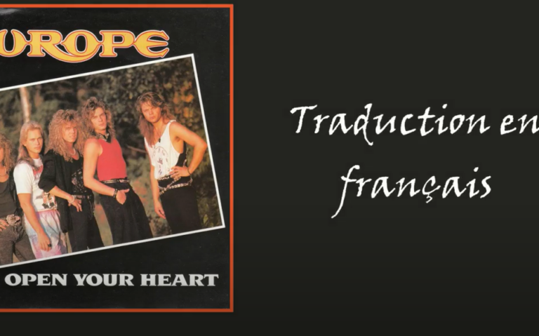 """Read more about the article Traduction """"Open Your Heart"""""""